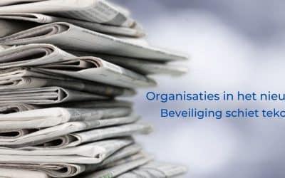 Organisaties in het nieuws door tekort schieten beveiliging